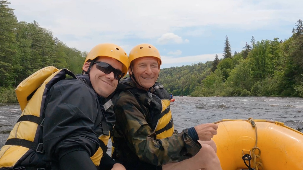 Whitewater Rafting Dead River The Warrens